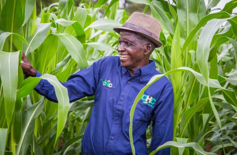 Zambian smallscale farmer