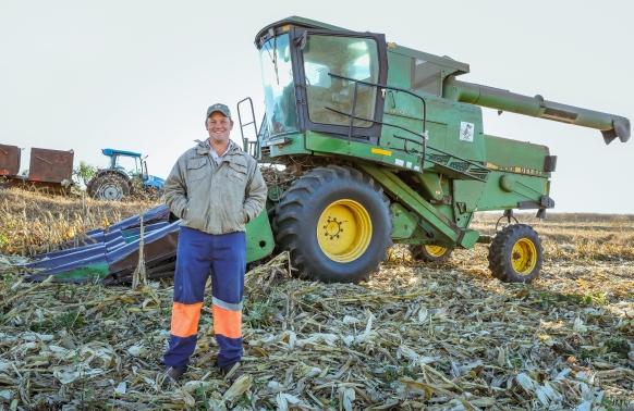 Maize Harvesting Contractor in Ixopo