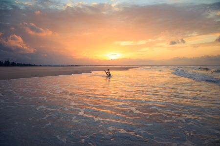 Surfers paradise in Mozambique