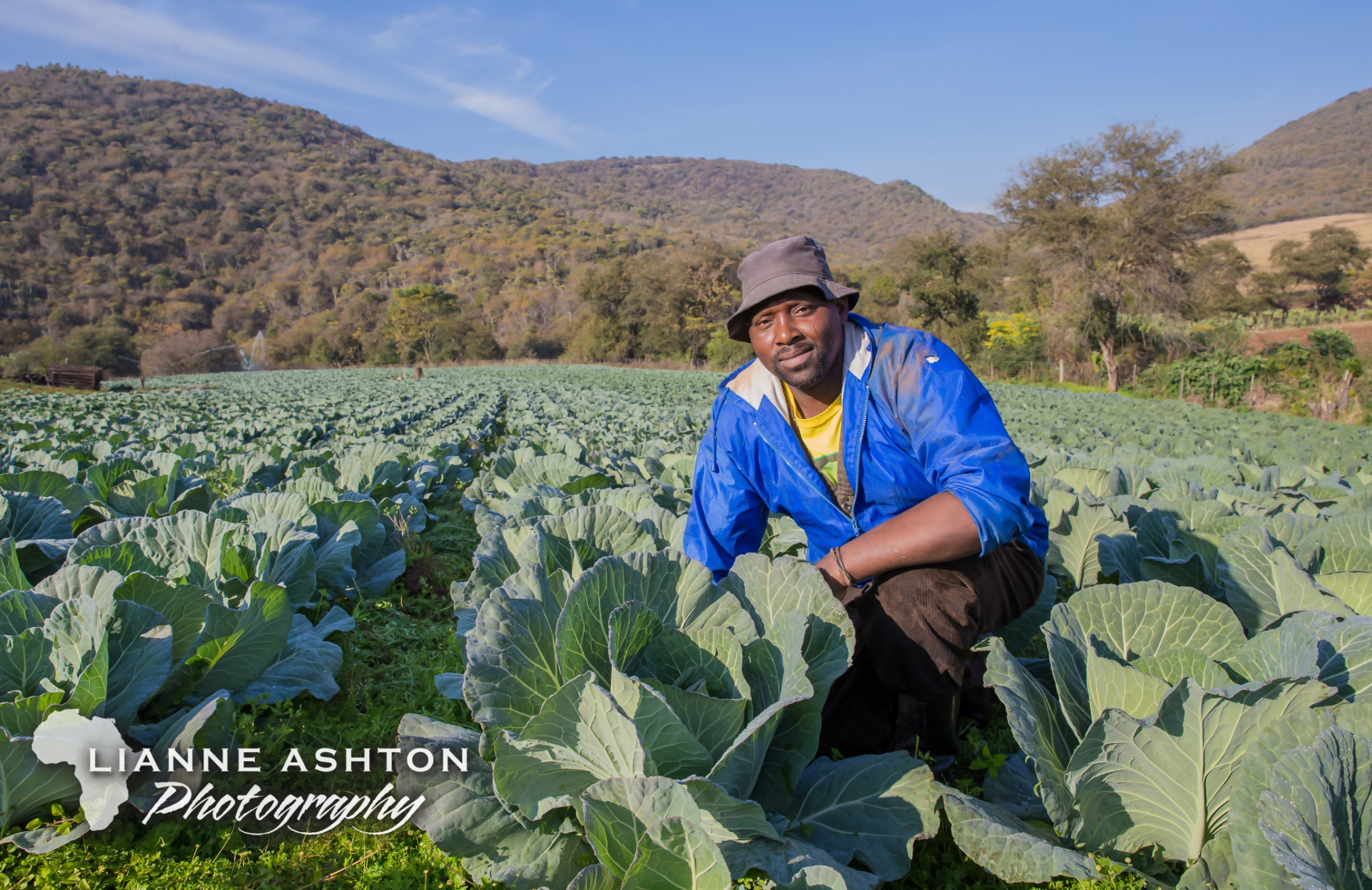 Smallholder farmer in Ixopo