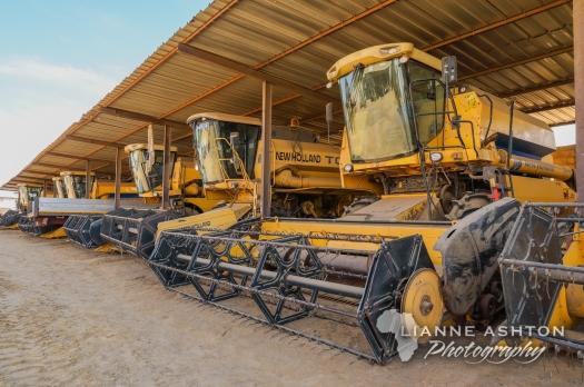 CNT combine harvesters