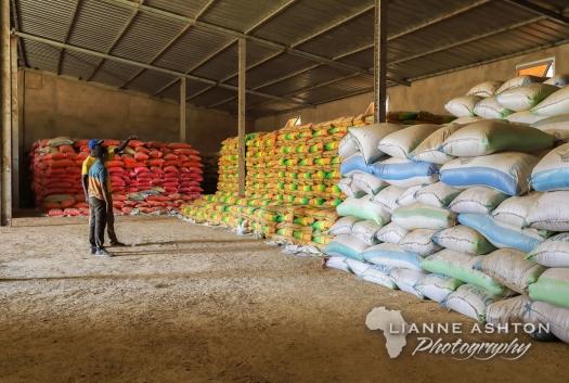 Rice storage at CNT