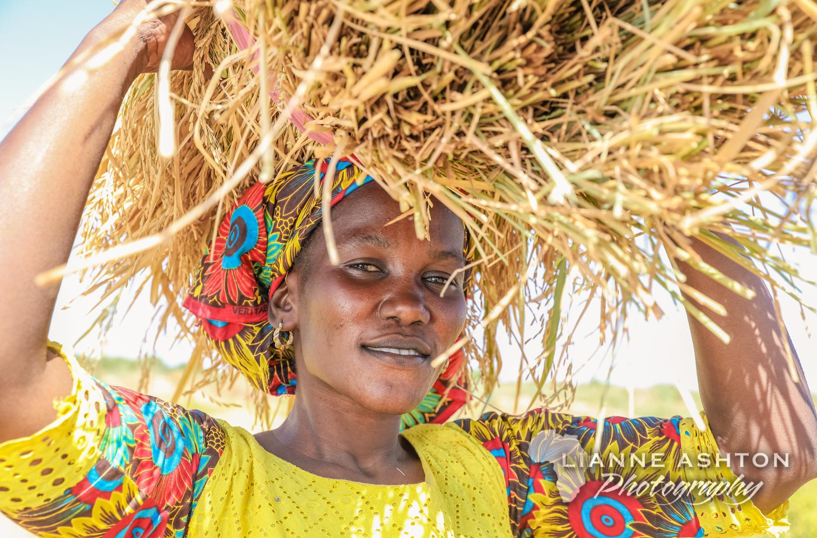 Senegalese woman farmer