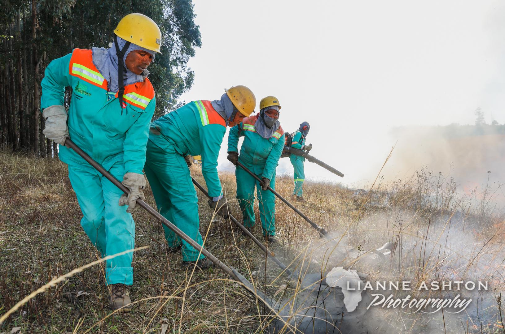 Women fire fighers (2)